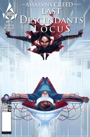 Assassin's Creed: Last Descendants - Locus #3 (Glass Cover)