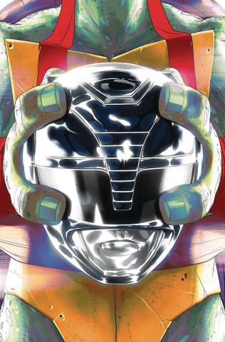 Power Rangers / Teenage Mutant Ninja Turtles #5 (Raph Montes Cover)