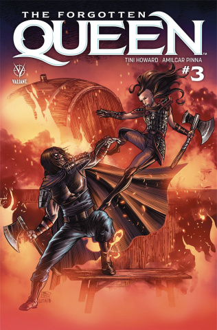 The Forgotten Queen #3 (Yapur Cover)