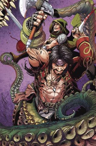 Rogues! The Shadow Over Gerada #2 (10 Copy Retailer Cover)
