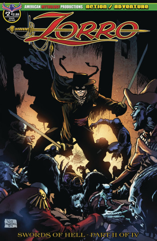 Zorro: Swords of Hell #4 (Martinez Cover)