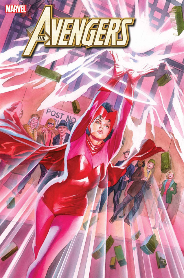 Avengers #25 (Alex Ross Marvels 25th Anniversary Cover)
