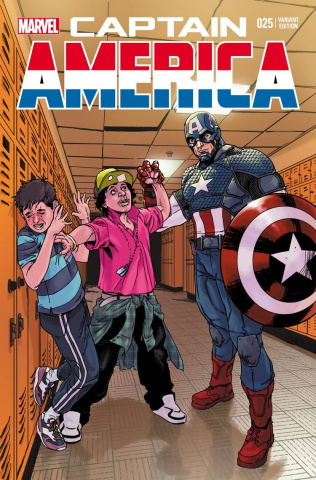 Captain America #25 (Stomp Out Bullying Cover)