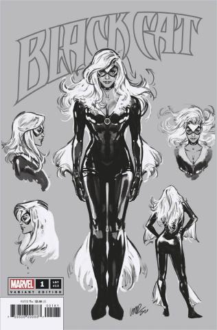 Black Cat #1 (Larraz Sketch Cover)