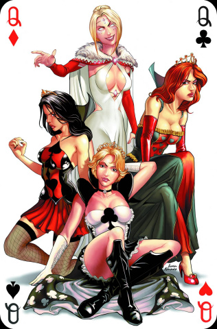 Grimm Fairy Tales: Wonderland - Through the Looking Glass #5 (Nunes Cover)