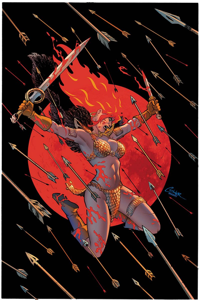Red Sonja #2 (Conner Virgin Cover)