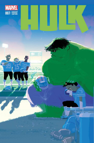 Hulk #7 (Stomp Out Bullying Cover)