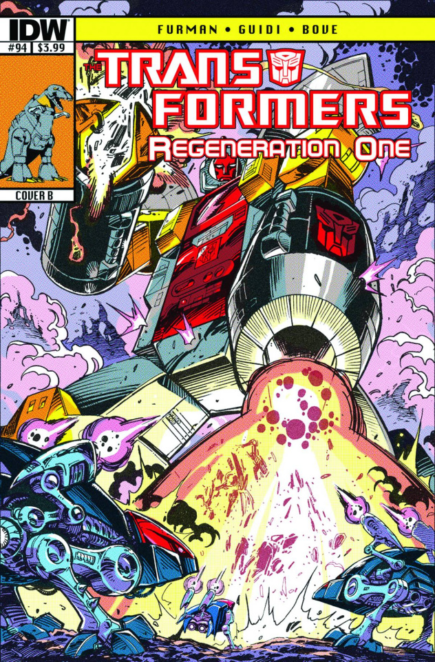 The Transformers: Regeneration One #94 (10 Copy Cover)