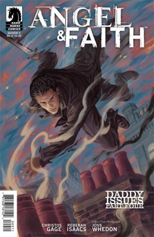 Angel & Faith #9 (Morris Cover)