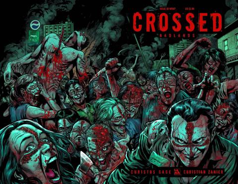 Crossed: Badlands #30 (Wrap Cover)