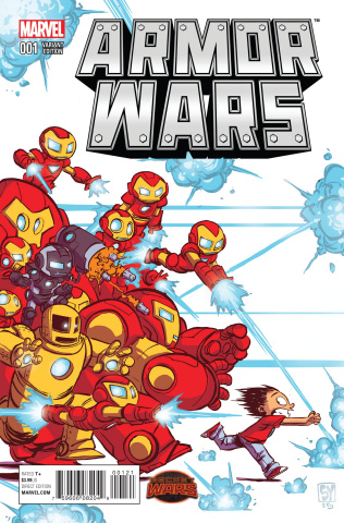 Armor Wars #1 (Young Cover)