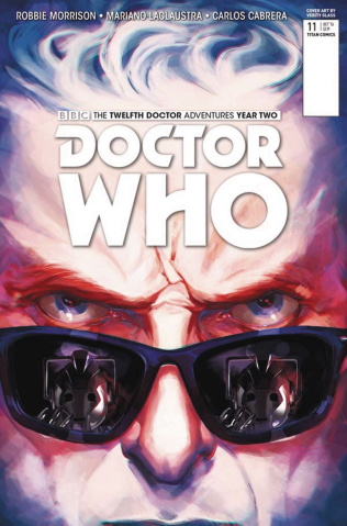 Doctor Who: New Adventures with the Twelfth Doctor, Year Two #11 (Glass Cover)