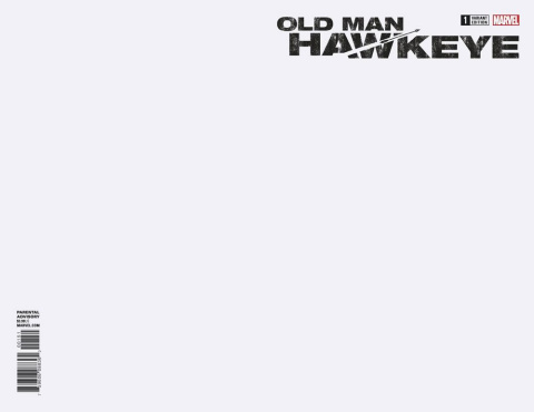 Old Man Hawkeye #1 (Blank Cover)