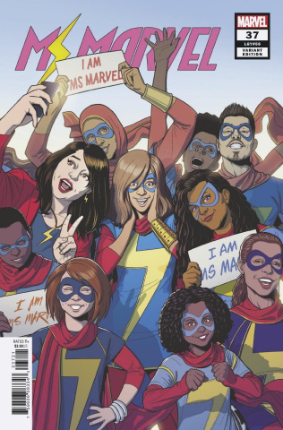 Ms. Marvel #37 (McKelvie Cover)