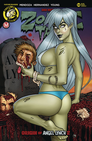 Zombie Tramp #58 (McKay Cover)