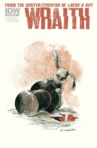 Wraith #4 (Subscription Cover)