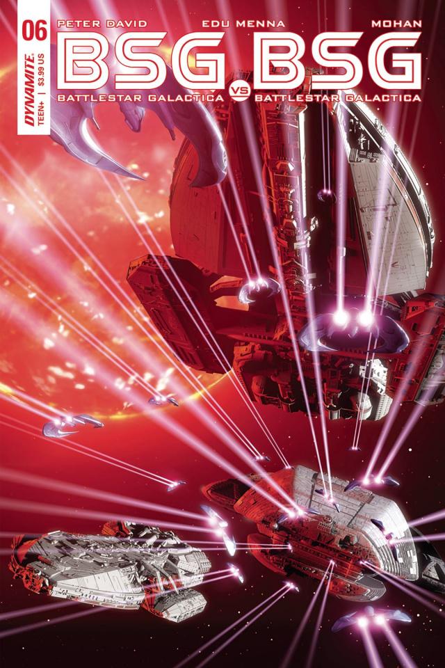 BSG vs. BSG #6 (Michael Adams Cover)
