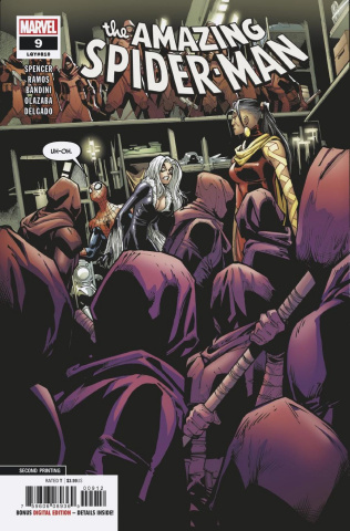 The Amazing Spider-Man #9 (Ramos 2nd Printing)