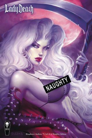 Lady Death: Blasphemy Anthem #1 (Naughty Cover)