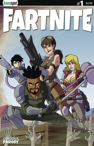 Fartnite #1 (Box Art Cover)