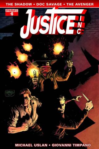 Justice, Inc. #6 (Hardman Cover)