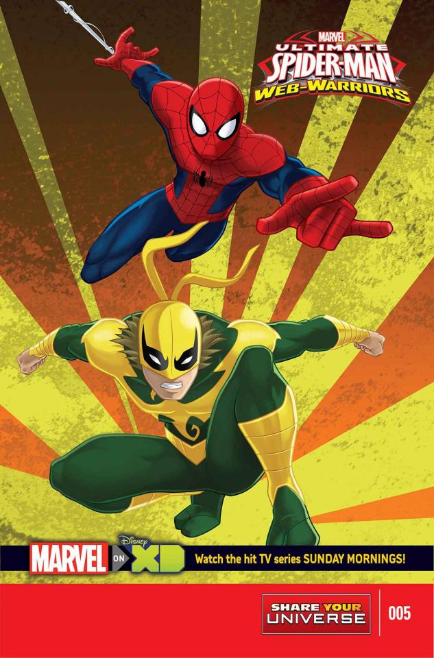 Ultimate Spider-Man: Web Warriors #5