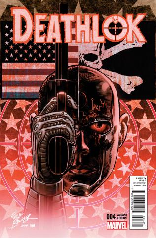Deathlok #4 (Buckler Cover)