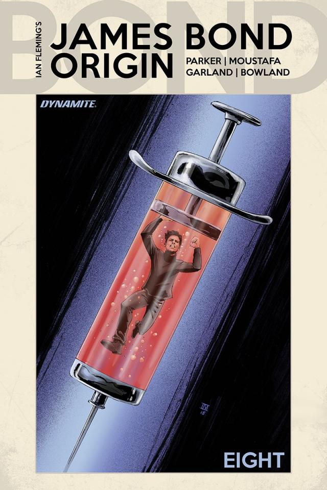 James Bond: Origin #8 (Moustafa Cover)
