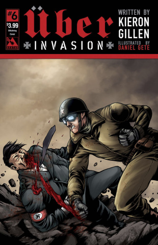 Über: Invasion #6 (Blitzkreig Cover)