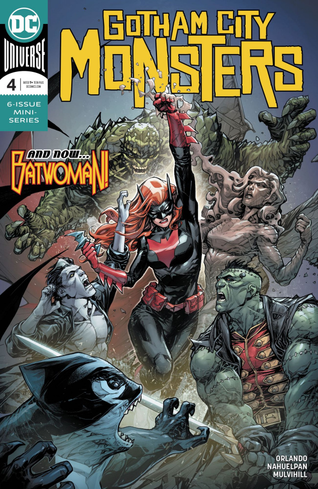 Gotham City Monsters #4