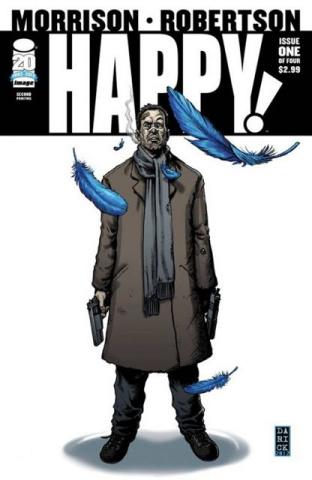 Happy! #1 (2nd Printing)