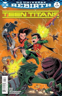 Teen Titans #3 (Variant Cover)