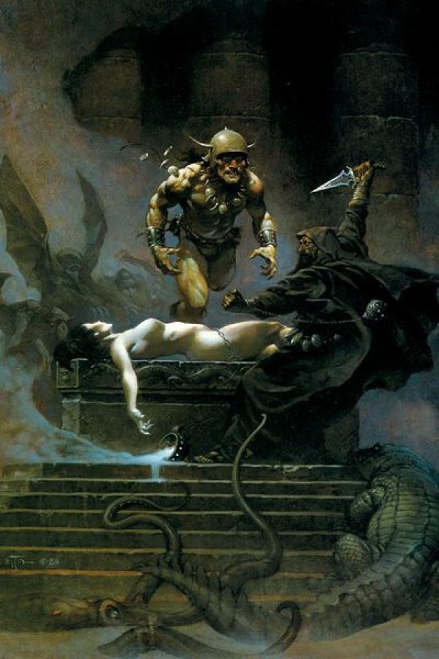Conan: The Frazetta Cover Series #7