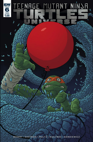 Teenage Mutant Ninja Turtles Universe #6 (Subscription Cover)