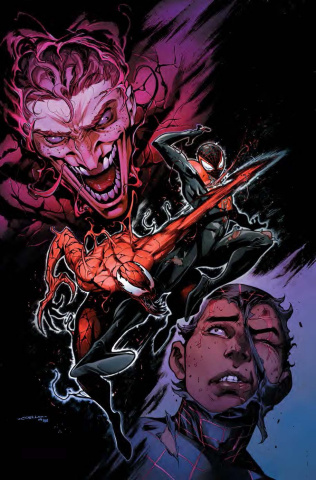 Absolute Carnage: Miles Morales #1 (Coello Virgin Cover)
