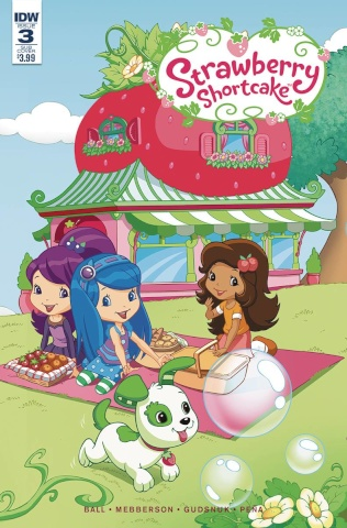 Strawberry Shortcake #3 (Subscription Cover)