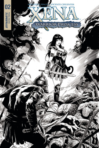 Xena #2 (20 Copy Cifuentes Virgin Cover)