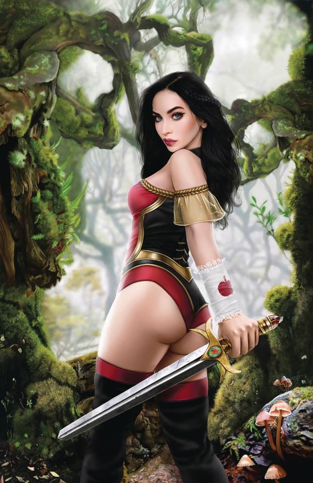 Grimm Fairy Tales #38 (Jimenez Cover)