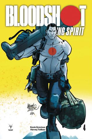 Bloodshot: Rising Spirit #4 (Lafuente Cover)