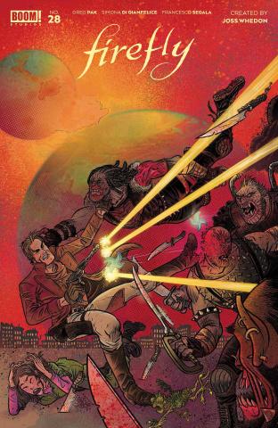 Firefly #28 (Rubin Cover)