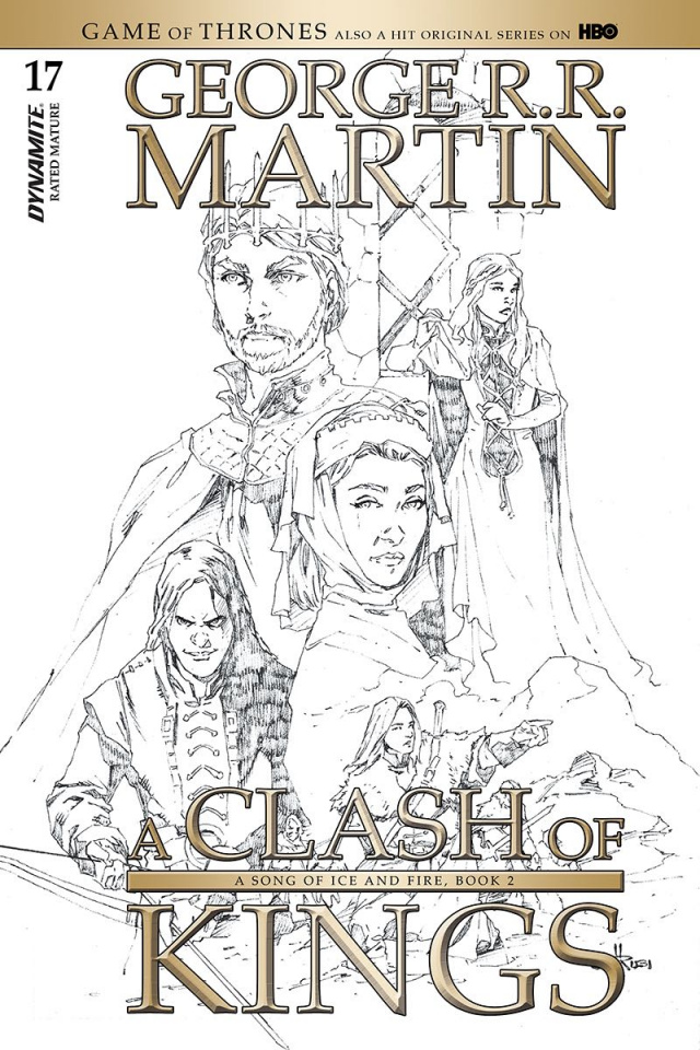 A Game of Thrones: A Clash of Kings #17 (20 Copy Rubi B&W Cover)
