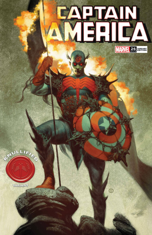 Captain America #26 (Tedesco Knullified Cover)