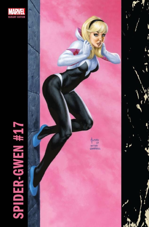 Spider-Gwen #17 (Jusko Corner Box Cover)