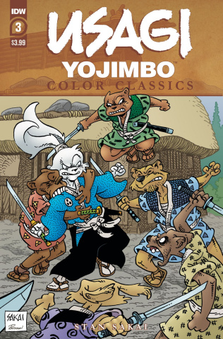 Usagi Yojimbo: Color Classics #3 (Sakai Cover)