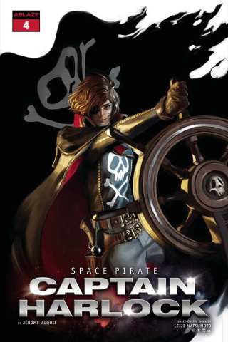 Space Pirate: Captain Harlock #4 (Mercado Cover)