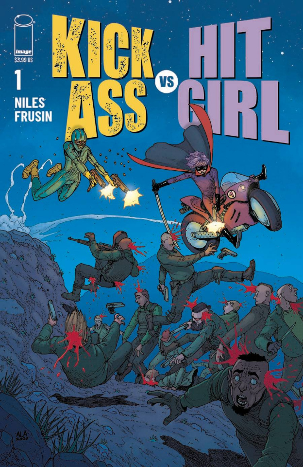 Kick-Ass vs. Hit-Girl #1 (Araujo Cover)
