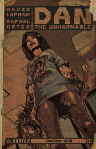 Dan the Unharmable #11 (Retro Cover)