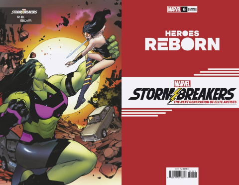 Heroes Reborn #6 (Silva Stormbreakers Cover)