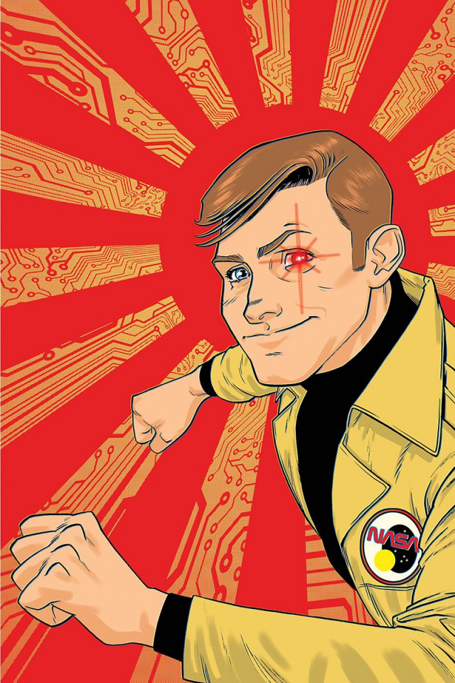 The Six Million Dollar Man #2 (10 Copy Gorham Virgin Cover)