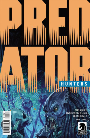 Predator: Hunters #1 (Velasco Cover)